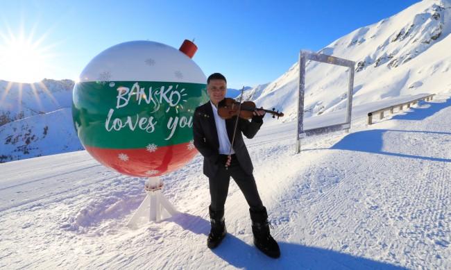 Васко Василев свири по върховете на Пирин за Световната купа по ски