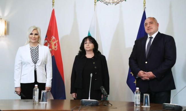 Борисов: И Сърбия ще може да диверсифицира газовите си доставки