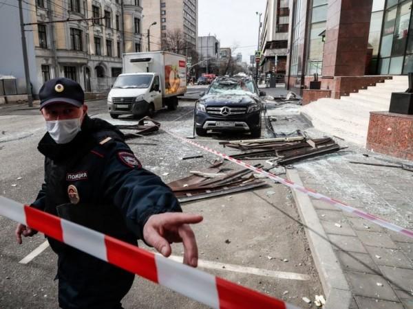 Взрив разруши кафене в руския град Нижни Новгород, на 400