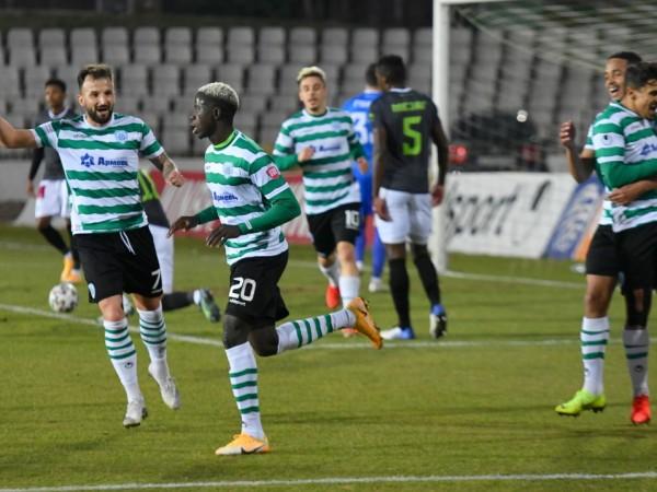 Черно море победи Берое с 2:1 във Варна и се