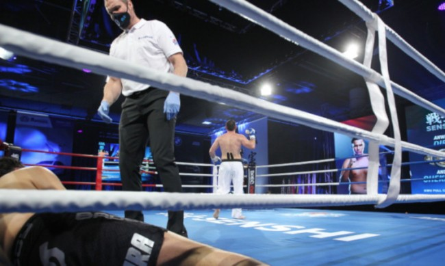 Андрей Чехонин с брутален нокаут срещу Дира на SENSHI 7