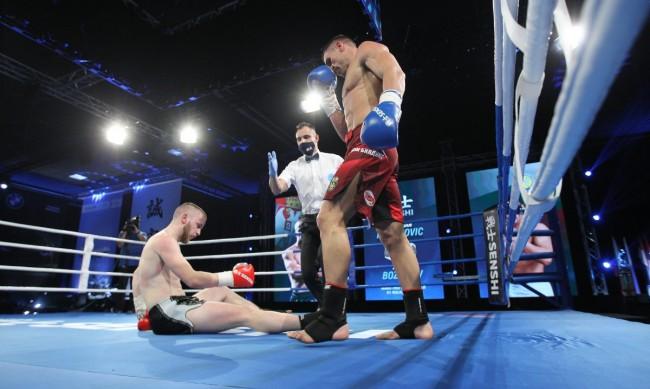 Атанас Божилов защити световната си титла на WAKO PRO