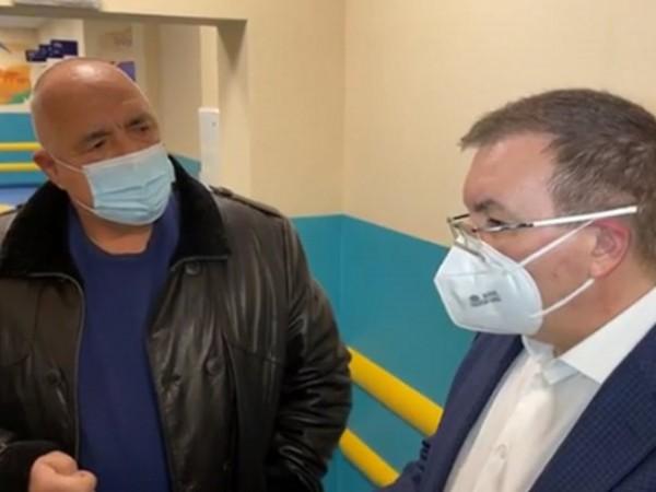 Премиерът Бойко Борисов заръча на здравния министр Костадин Ангелов да