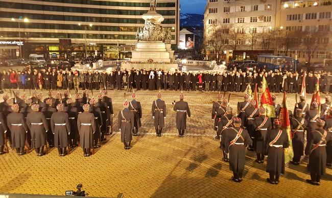 НСО с мерки за сигурност на 3 март в София