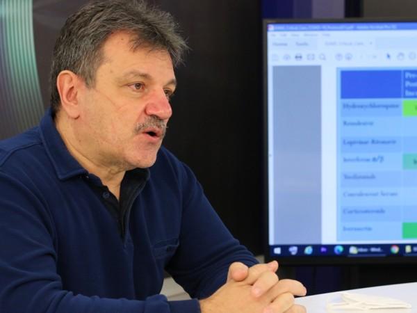 Пулмологът д-р Александър Симидчиев призна, че много хора са го