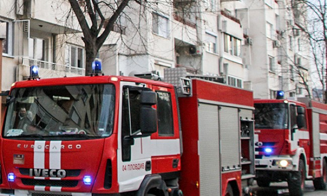 "Жена загина при пожар в жилище на бул. ""Христо Ботев"""