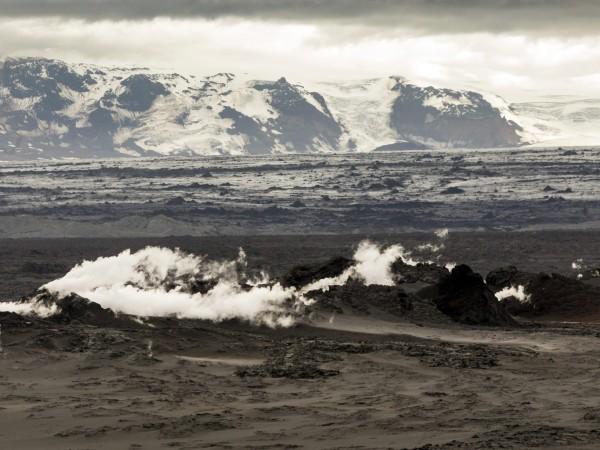 Дори и за вулканичен остров, който да свикнал от време