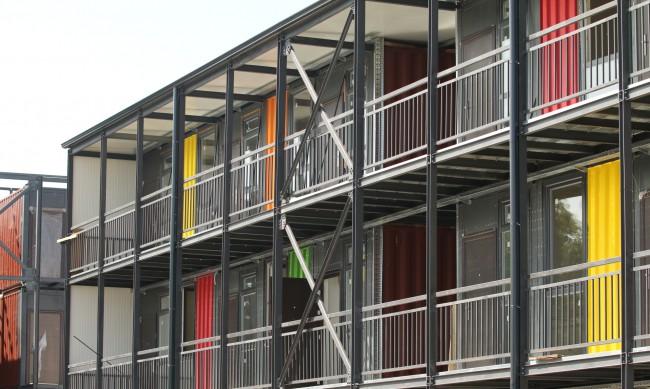 "Нови жилища от контейнери в столичния кв. ""Факултета"""