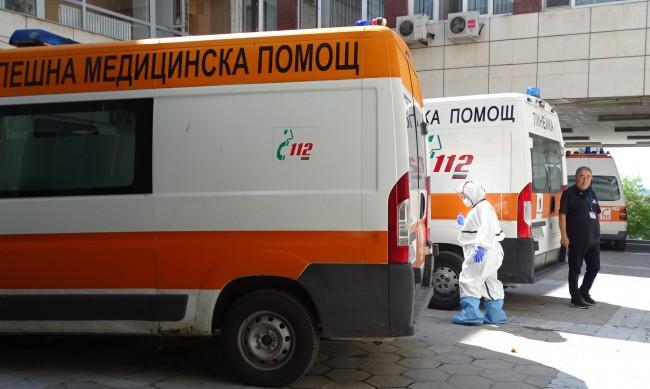 Ново COVID отделение в Благоевград, все повече болни