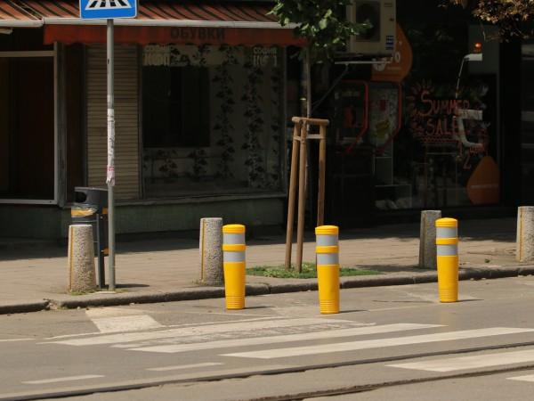 11 пешеходни пътеки са повдигнати в София от началото на