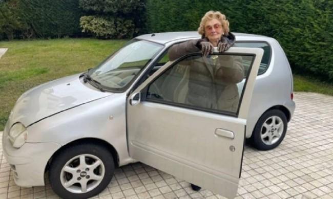 Силвана Руджерини: Бабата, която кара 62 г. без инцидент