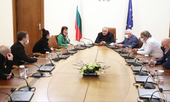 Борисов се срещна с Рут Колева, музикантите - с по 5 минимални заплати