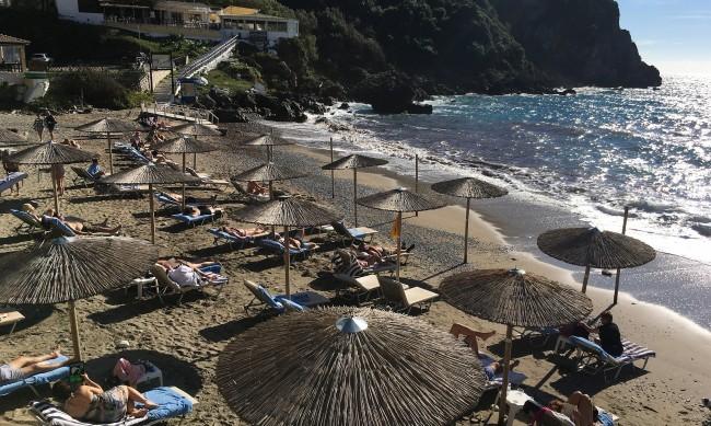 Жители на 18 гръцки острова в Егейско море са се
