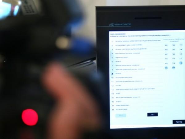 """""""Машините за гласуване се съхраняват в склад, охраняван от жандармерия"""