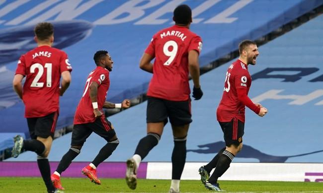 Блестящ Ман Юнайтед победи непобедимия Ман Сити