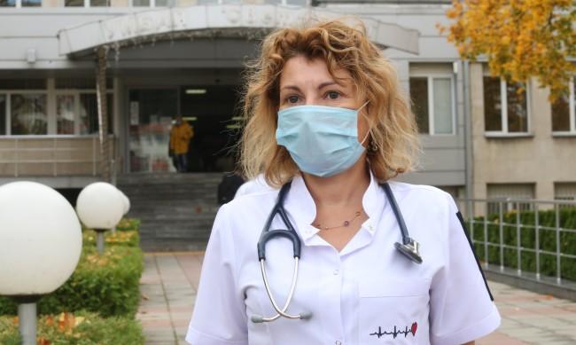 Д-р Прокопова: Това, че си млад и здрав, не те пази от тежък COVID