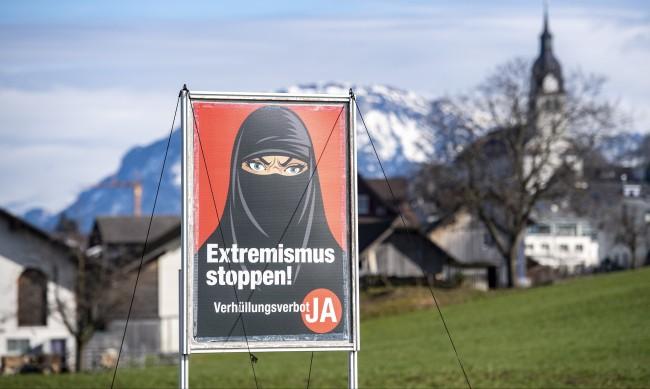 Швейцария официално забрани бурките