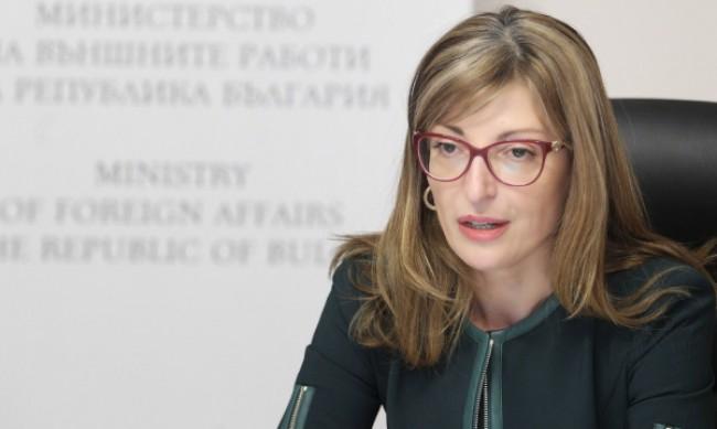 Вицепремиерът Екатерина Захариева е с коронавирус