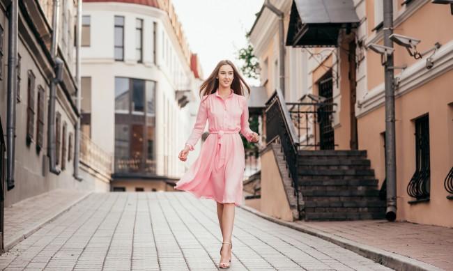 Пролетни рокли - не изхвърляйте дългата риза