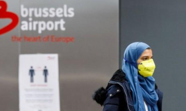 Девет души, сред които полицаи, ранени на протест в Белгия
