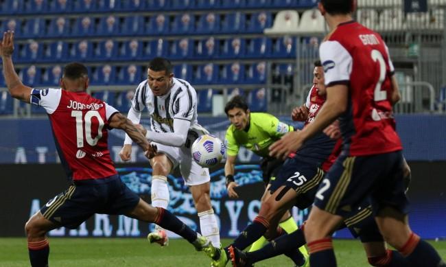 Роналдо отбеляза хеттрик за Ювентус срещу Каляри