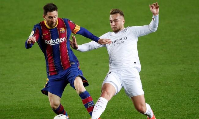 Барселона очаквано победи Уеска с 4:1