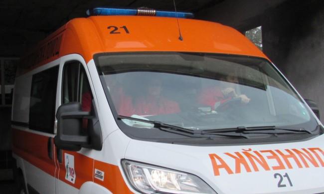 Шофьор е починал, джипът му паднал от скат в с. Забърдо