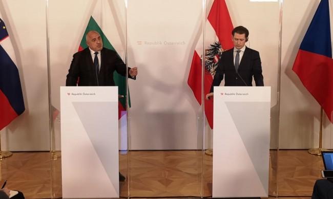 Борисов се видя с Курц: С Австрия винаги сме си помагали!