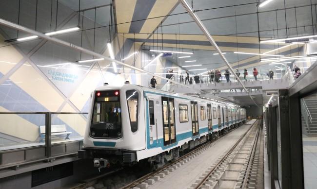 """Пускат метрото между """"Театрална"""" и """"Вл. Вазов"""" тази седмица"""