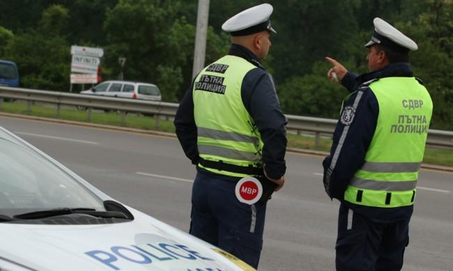 Пътна полиция с нова акция