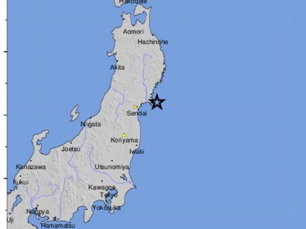 Земетресение с магнитуд 7,2 е регистрирано в североизточната част на