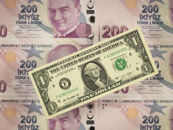 Турската лира падна със 17% спрямо долара днес, след като