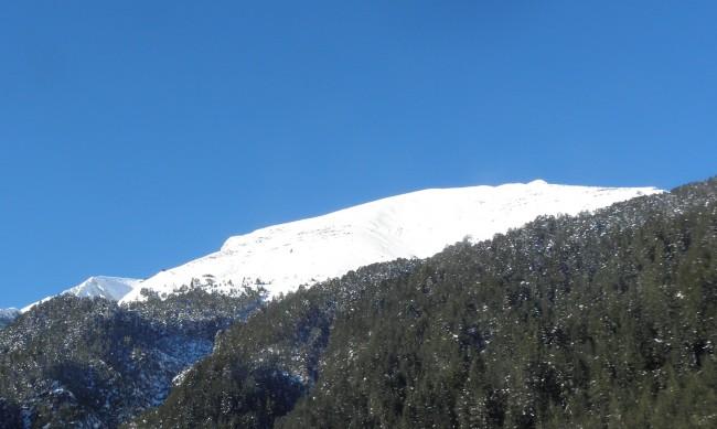 Висока e опасността от лавини над Банско