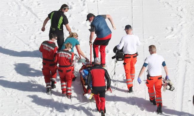 Норвежки ски скачач в изкуствена кома след падане в Планица