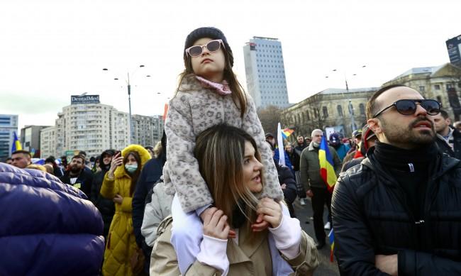 В Румъния протестираха срещу COVID мерките