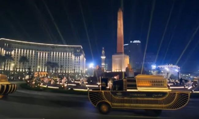 Процесия с мумиите на 22-ма фараони се проведе в Кайро