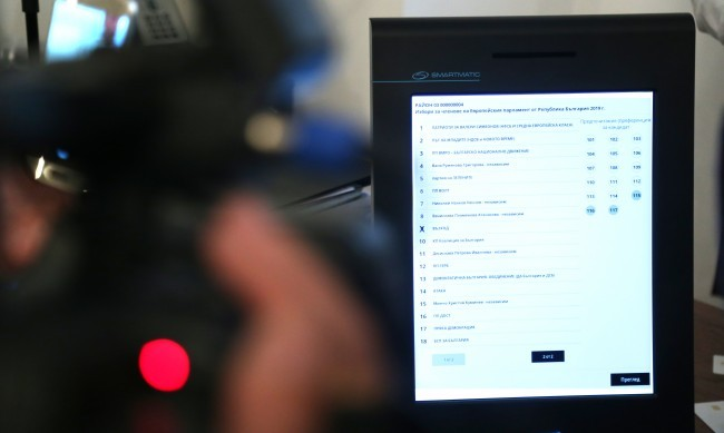 Преустановяват машинното гласуване и в Добрич