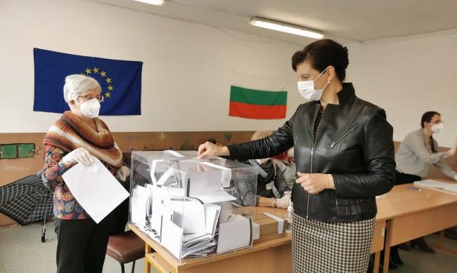 """Дариткова гласува """" с надежда и вяра за демокрацията"""""""