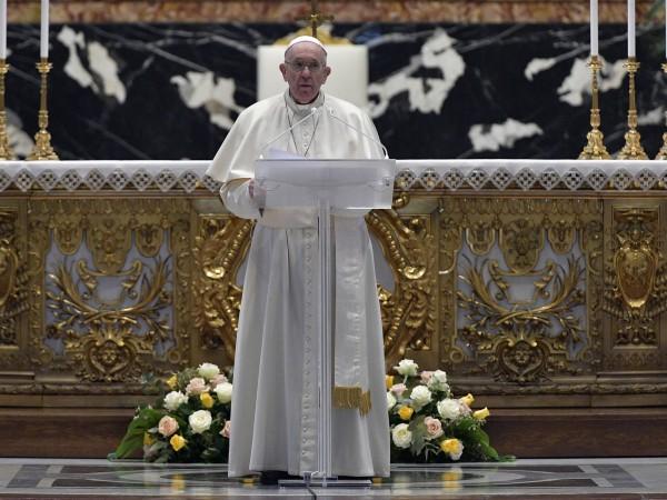 Папа Франциск нарече Възкресението на Христос надежда за помирение и