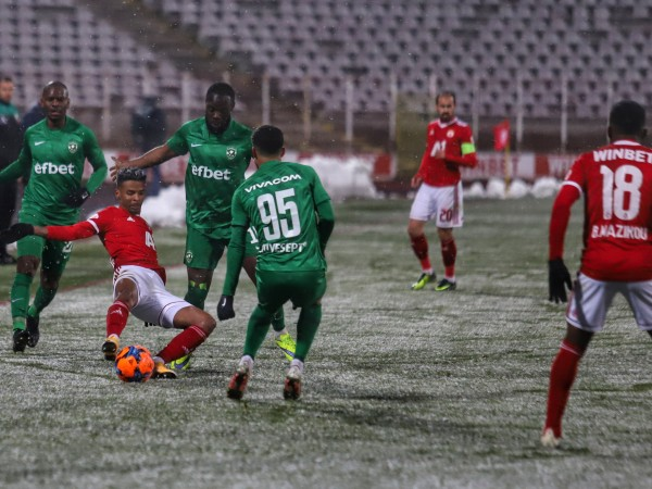 ЦСКА и Лудогорец си врътнаха здраво равенство 1:1 на стадион