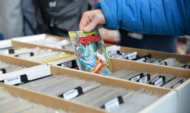Продадоха първият брой на комикс за Супермен за $3,25 млн.