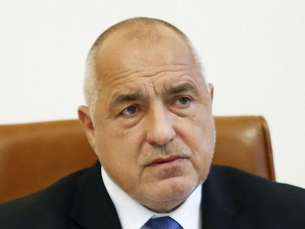 Премиерът и лидер на ГЕРБ Бойко Борисов се отказа от