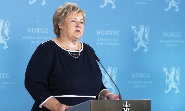 Глобиха премиерката на Норвегия, събрала 13 души на купон