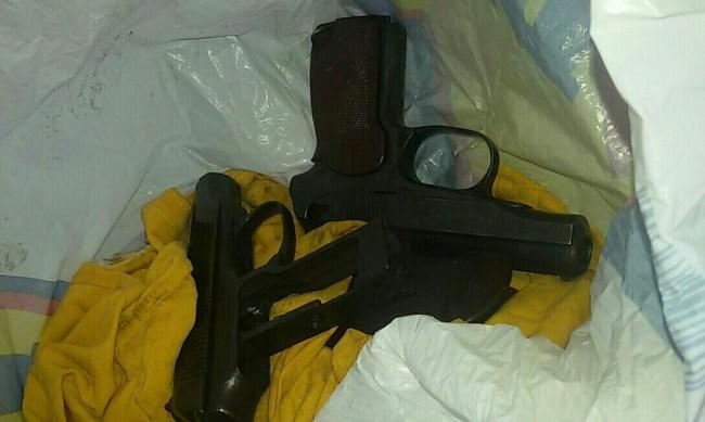Хванаха голямо количество оръжие на Капитан Андреево