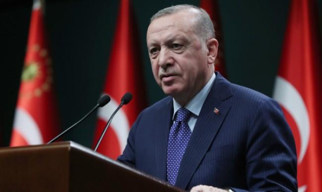 Ердоган: Сътрудничеството с Украйна не е срещу трети страни