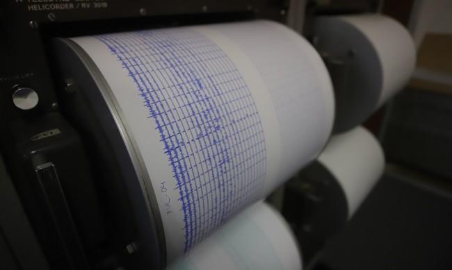 Земетресение с магнитуд 4,5 разлюля Гърция