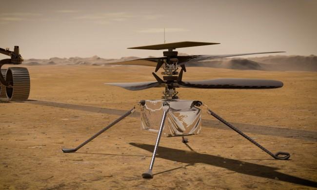 НАСА отложи първия полет с хеликоптер на Марс
