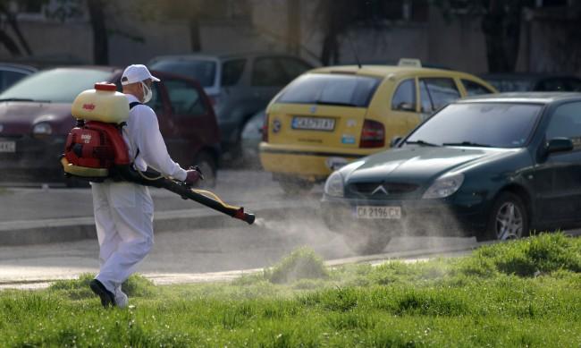 Започва по график пръскането срещу кърлежи в София