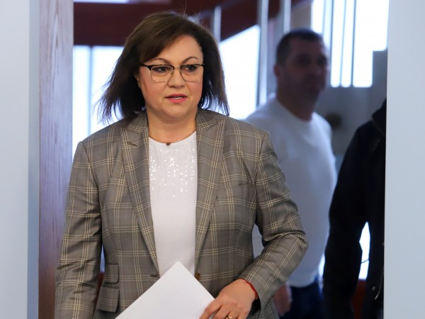Лидерът на БСП Корнелия Нинова сигнализира в пост във Фейсбук,