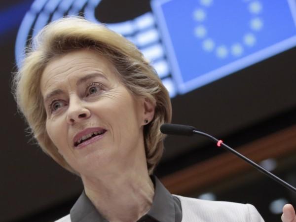 Председателят на Европейската комисия Урсула фон дер Лайен ще се